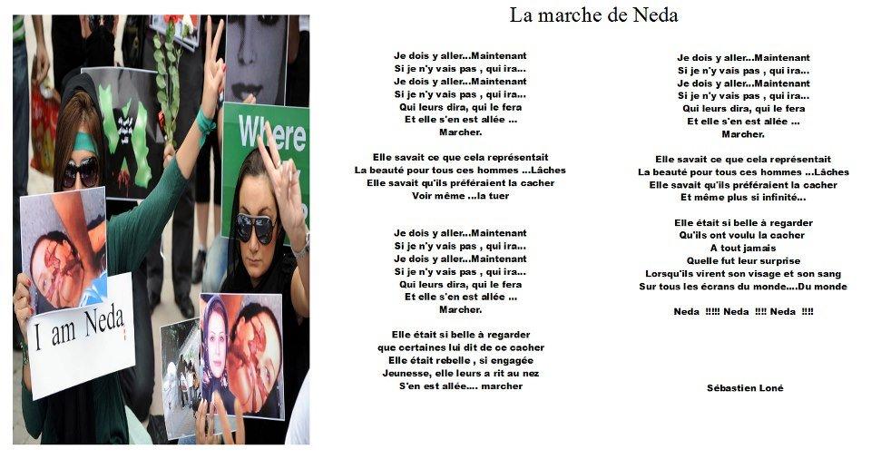La marche de Neda - Sébastien Loné la-marche-de-neda-sl