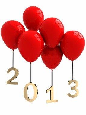 Mes souhaits pour ce nouvel an: 2013